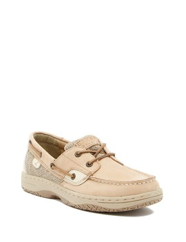 Bluefish Lace Up Boat Shoe (Little Kid & Big Kid) by Sperry
