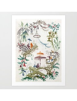 Art Print by The Chinoiserie Pavillion