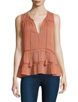 Massie Boho Blouse by Alice + Olivia