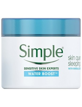 Simple Water Boost Sleeping Cream   1.7oz by Simple