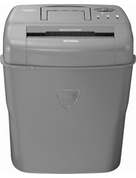 10 Sheet Crosscut Shredder   Gray by Insignia™
