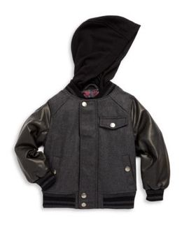 Little Boy's & Boy's Zippered Jacket by Urban Republic