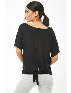 Active V Neck Cutout Tee by Forever 21