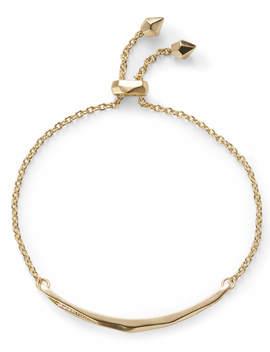 Angela Adjustable Chain Bracelet In Gold by Kendra Scott