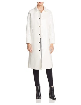 Long Snap Slicker Raincoat by Jane Post