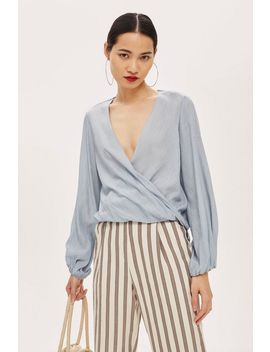 Casual Drape Top by Topshop