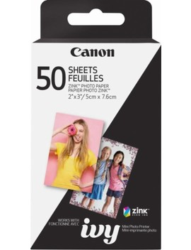 "Zink Glossy Photo 2"" X 3"" 50 Count Paper by Canon"