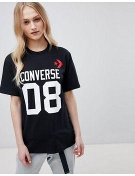 Converse Basketball Short Sleeve T Shirt In Black by Converse