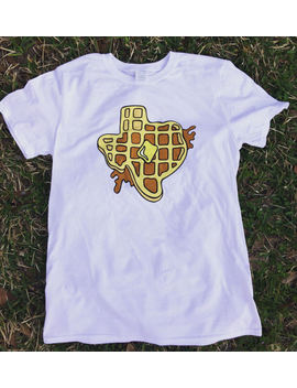 Texas Waffle T Shirt Texas Breakfast by Etsy