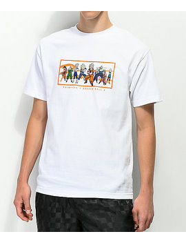 Primitive X Dragon Ball Z Nuevo White T Shirt by Primitive