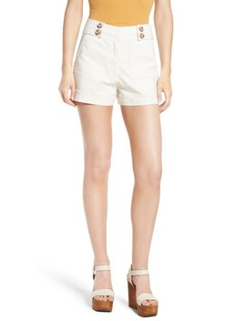 Button Tab Shorts by Moon River
