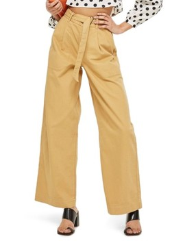 Wonder Wide Chino Trousers by Topshop