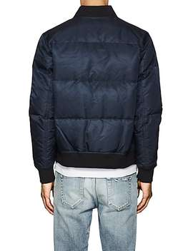 quilted-tech-twill-bomber-jacket by the-very-warm