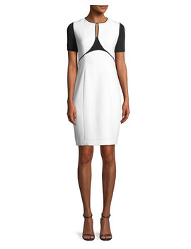 Nixie Keyhole Sheath Dress by Elie Tahari