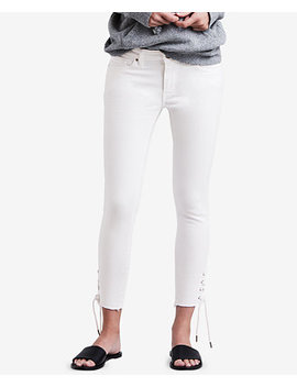711 Lace Up Skinny Jeans by Levi's