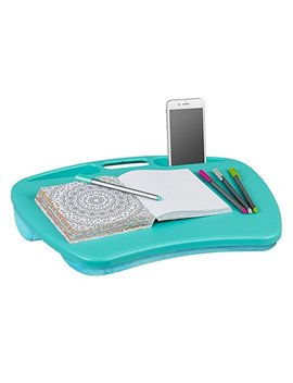 "Lap Gear My Desk Lap Desk   Turquoise (Fits Up To  15.6"" Laptop) by Lap Desk"