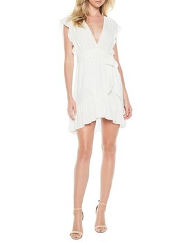 Everitt Tie Waist Minidress by Bardot