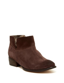 Snare Faux Fur Bootie by Seychelles