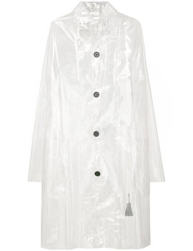 Sheer Pvc Rain Coathome Women Clothing Trench & Raincoats by Rundholz Black Label