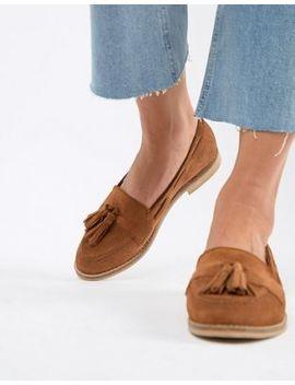 Asos Design Messenger Suede Tassel Loafers by Asos Design