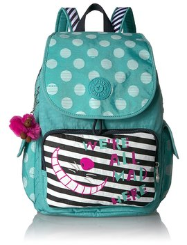 Kipling Disney Alice In Wonderland City Pack Tea Party Backpack by Kipling