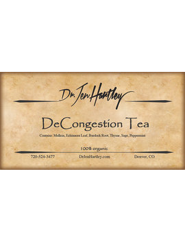 De Congestion Tea by Etsy