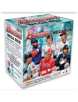 2018 Mlb Baseball Trading Card Topps Bowman Mega Box by Mlb