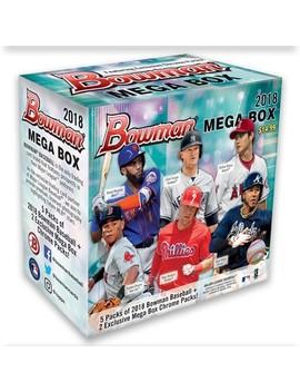 2018 Mlb Baseball Trading Card Topps Bowman Mega Box by Mlb