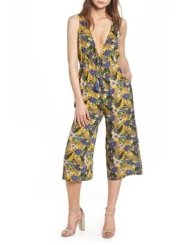 Isla Print Jumpsuit by Lost + Wander