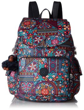 Kipling Ravier Medium Printed Backpack Backpack by Kipling