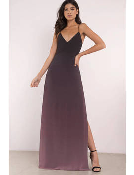 Make Waves Black Multi Maxi Dress by Tobi