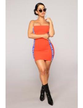 Super Fine Dress   Orange by Fashion Nova
