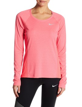 Long Sleeve Dri Fit Tee by Nike