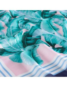 Palm Print Kerchief Square Scarf by World Market