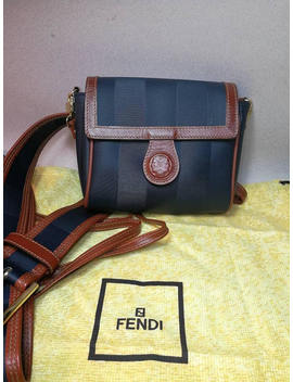 Handbag Fendi Men Woman Handbag Shoulder Bag Belt Man Woman Bag Belt Linea Giano Collection Years 80 by Etsy