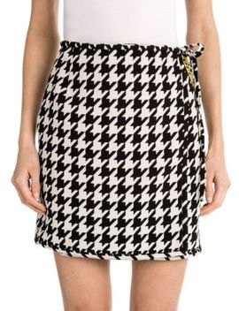 Houndstooth Mini Skirt by Off White