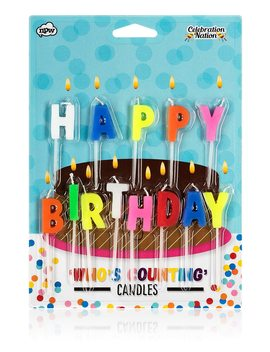 Happy Birthday Candles by Forever 21