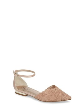 Trala Ankle Strap Flat by Adrianna Papell