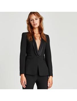 Nwt Zara Tuxedo BlazerNwt by Zara