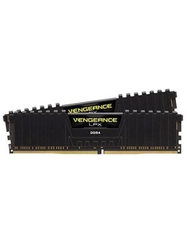 corsair-vengeance-lpx-16gb-(2x8gb)-ddr4-dram-2400mhz-c16-desktop-memory-kit---black-(cmk16gx4m2a2400c16) by corsair