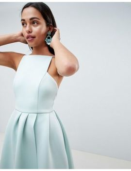 Asos Design Strappy Open Back Prom Dress by Asos Design