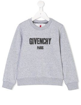 Logo Print Sweatshirthome Kids Boys Clothing Hoods & Sweatshirts by Givenchy Kids