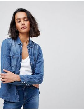 Vero Moda Denim Shirt by Vero Moda