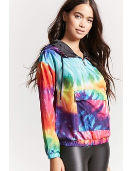 Rainbow Tie Dye Anorak by F21 Contemporary