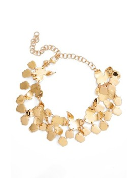 Brushed Collar Necklace by Oscar De La Renta