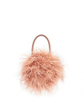 Zadie Feather Circle Tote by Loeffler Randall