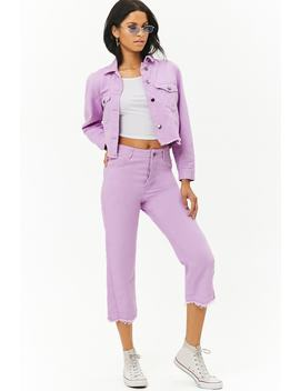The Style Club Cropped Jeans by F21 Contemporary