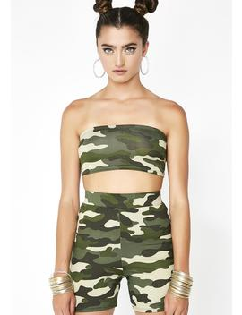 Oh She Ready Camo Set by Annes Apparel