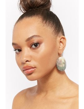 Circle Shell Earrings by F21 Contemporary