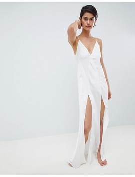 Asos Design Bridal Maxi Slip by Asos Design